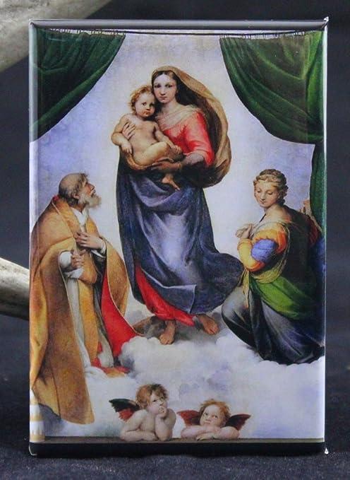 Raphael/'s Madonna Fridge Magnet