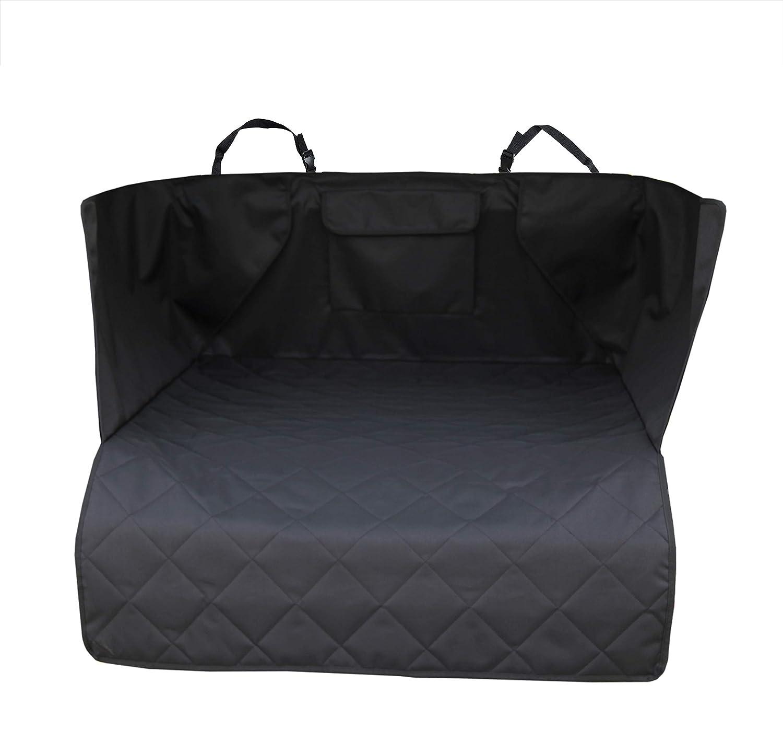 Black, 52\ INNX Cargo Cover Cargo Liner-2018 Popular Design Universal Ford,Jeep,Trucks,Chevrolet,Pickup,Dogs,Pets, Waterproof Heavy Duty Nonslip, Size 52  L x 41  W x 17.7  H, Black