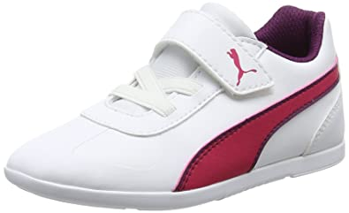 Puma Unisex-Kinder Courtflex PS Sneaker, Pink (Love Potion-White), 33 EU