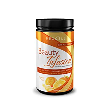NeoCell Beauty Infusion Refreshing Collagen Drink Mix - Tangerine twlist - 11.64 oz by NeoCell by Neocell: Amazon.es: Salud y cuidado personal