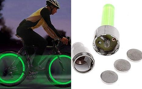 Virtuemart 2 x Tapon luz led Valvula llanta Rueda Coche Moto Bici