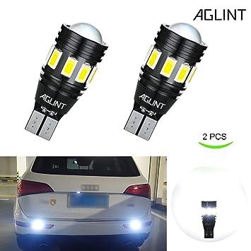 AGLINT Bombillas LED Coche W16W CANBUS Error Gratuito 13SMD Alta Brillante T15 912 921 Para Luces de Copia de Seguridad Inversa Luz de Marcha Atrás ...