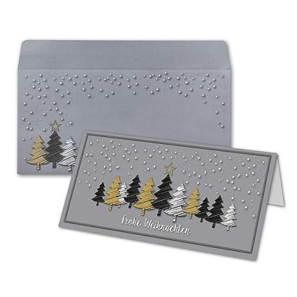 Tarjetas de Navidad - Navidad Bosque | con Carta de Sobres ...