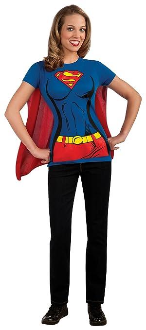 amazon co jp female superhero tシャツ大人用コスチュームスーパー