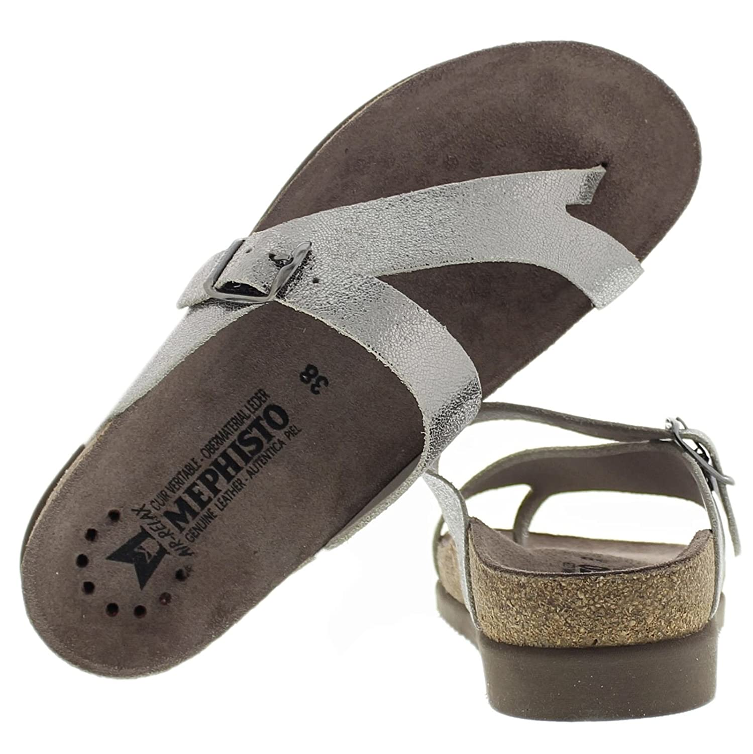 4491a8d36 Mephisto Womens Helen Leather Sandals  Amazon.co.uk  Shoes   Bags