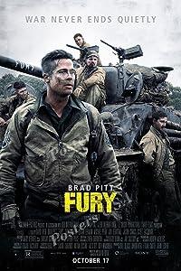"Posters USA - Fury Movie Poster GLOSSY FINISH - MOV395 (24"" x 36"" (61cm x 91.5cm))"
