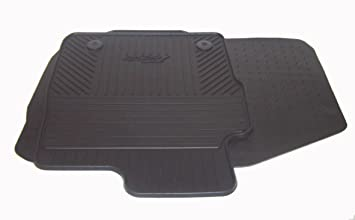 Genuine Ford Fiesta Front Rubber Car Mats Custom-Fit Set  sc 1 st  Amazon UK & Genuine Ford Fiesta Front Rubber Car Mats Custom-Fit Set: Amazon ... markmcfarlin.com