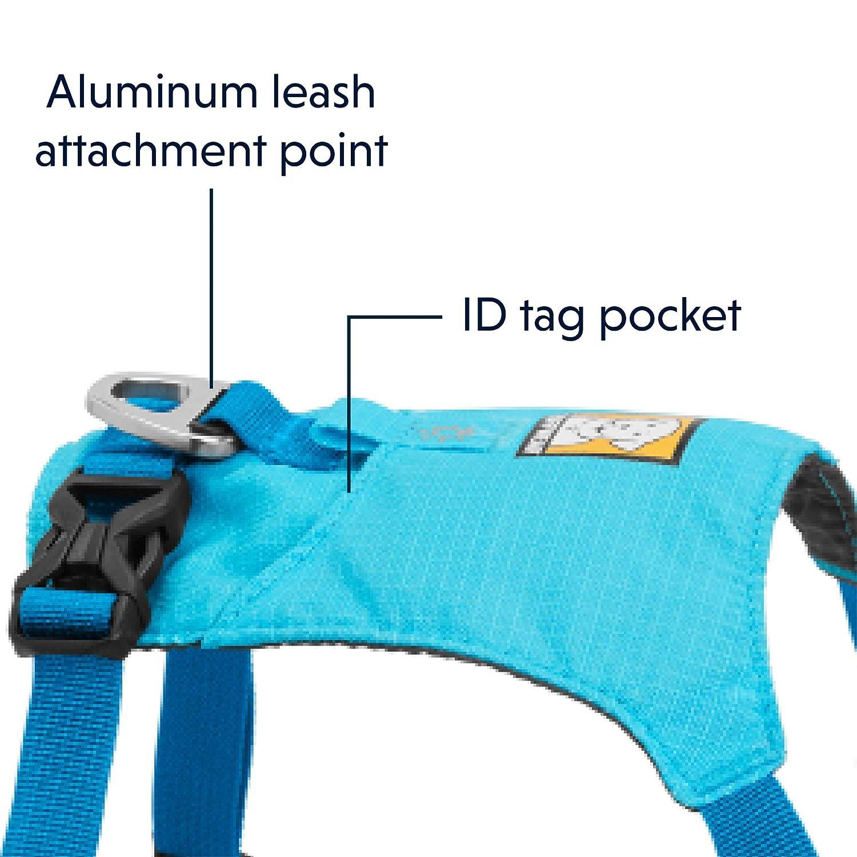 Ruffwear Leichtgewicht-Hundegeschirr Miniatur-Hunderassen Gr/ö/ßenverstellbar