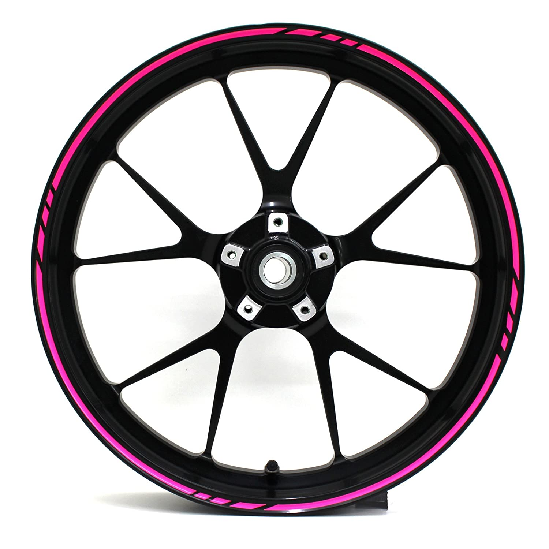 /finest Folia adatto per 17/pollici /& 16 18 19/Cerchioni Moto Auto Bicicletta adesivi per cerchioni GP di design 16/pezzi set completo/