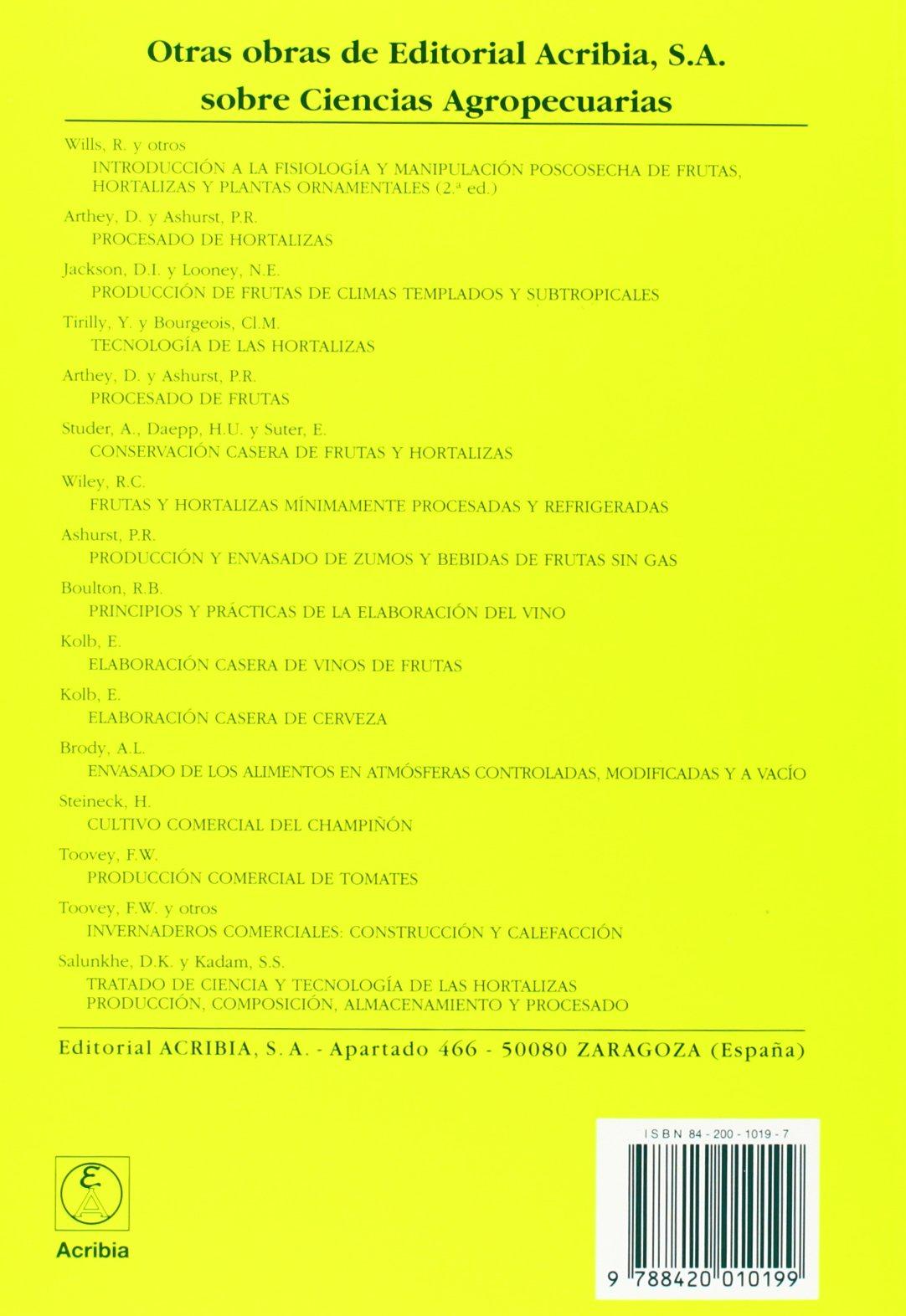 Almacenamiento En Atmosferas Controladas de Frutas y Hortalizas (Spanish Edition): A. K. Thompson: 9788420010199: Amazon.com: Books