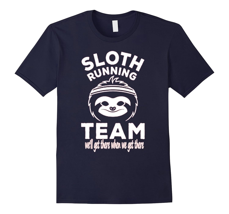 Cute Sloth Running Team Shirt
