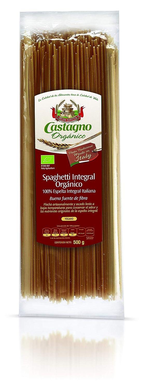 Espagueti integral bio de espelta, 500 g: Amazon.es ...