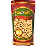Peanuts Dry Roasted Unsalted, Blanched, 5 Pound Bulk Bag - We Got Nuts,