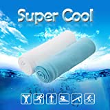 Ice towel The super cool,super absorbent,fast dry towel for yoga,running, fitness,climb,golf etc.