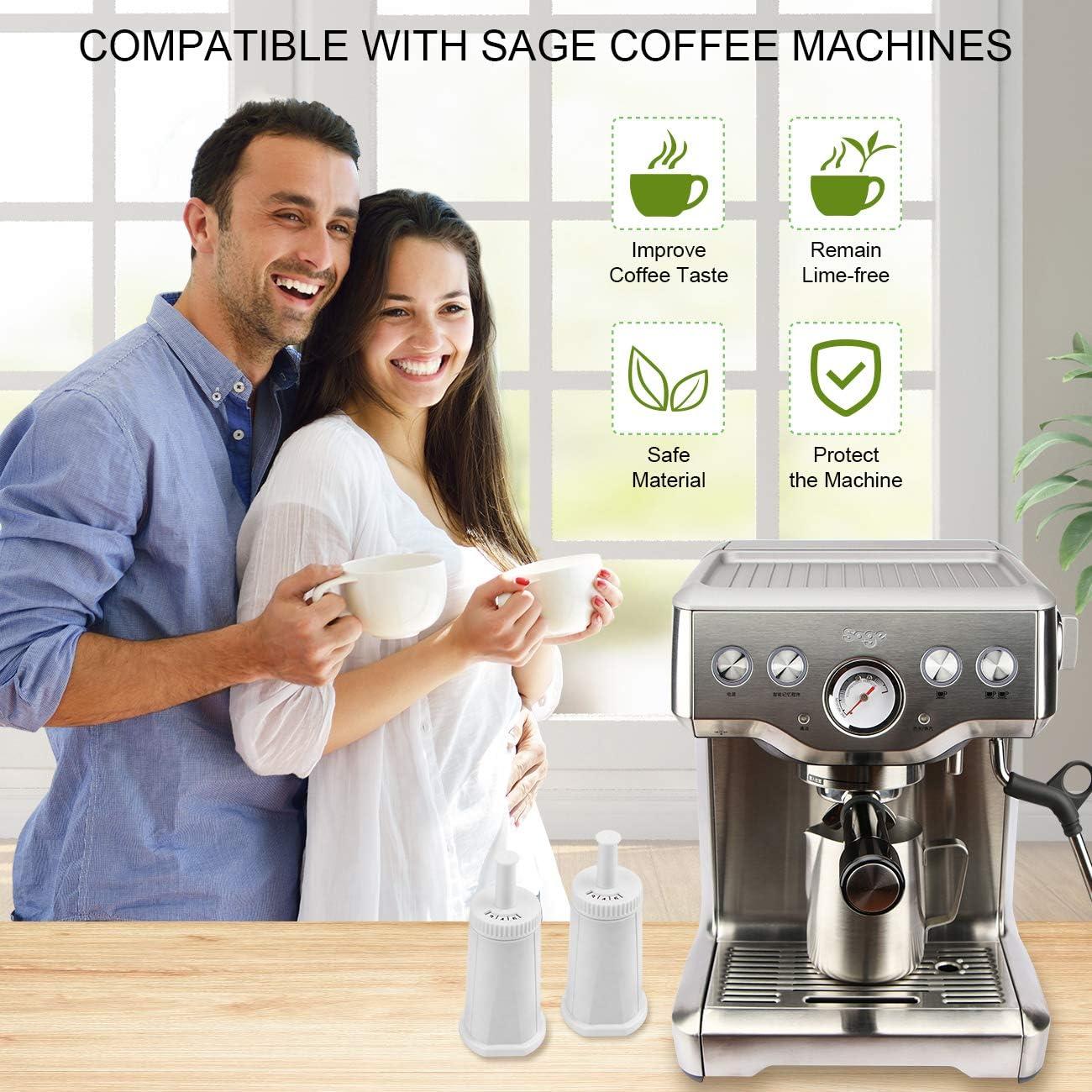 Sage Appliances BES008 - Filtro de agua para cafetera SES 990/980 ...
