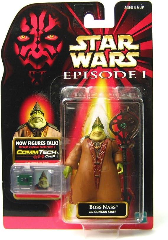CommTalk Star Wars Boss Nass Hasbro Kenner Episode 1