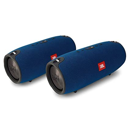 jbl bluetooth speakers amazon. jbl xtreme portable wireless bluetooth speakers - pair (blue) jbl amazon e