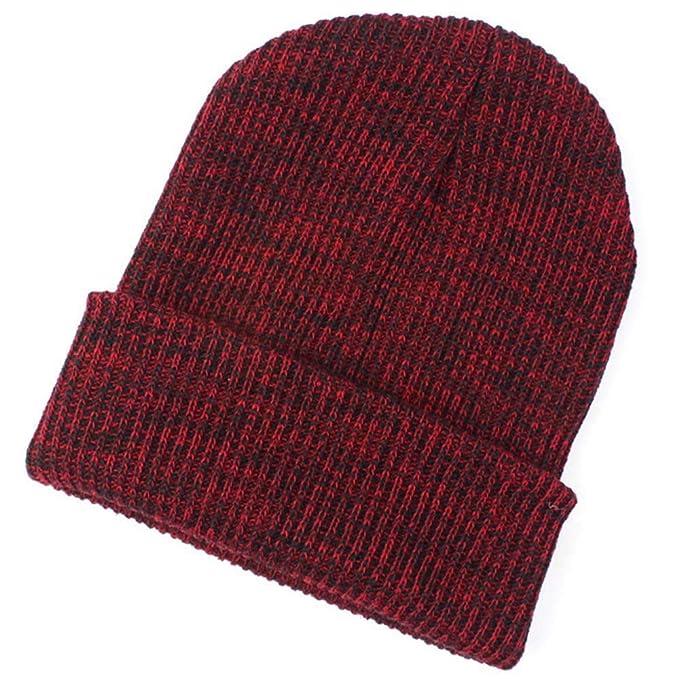 Frau Männer Hut, Quaan Warm Ohr Schutz Häkeln Solide Farbe Winter ...