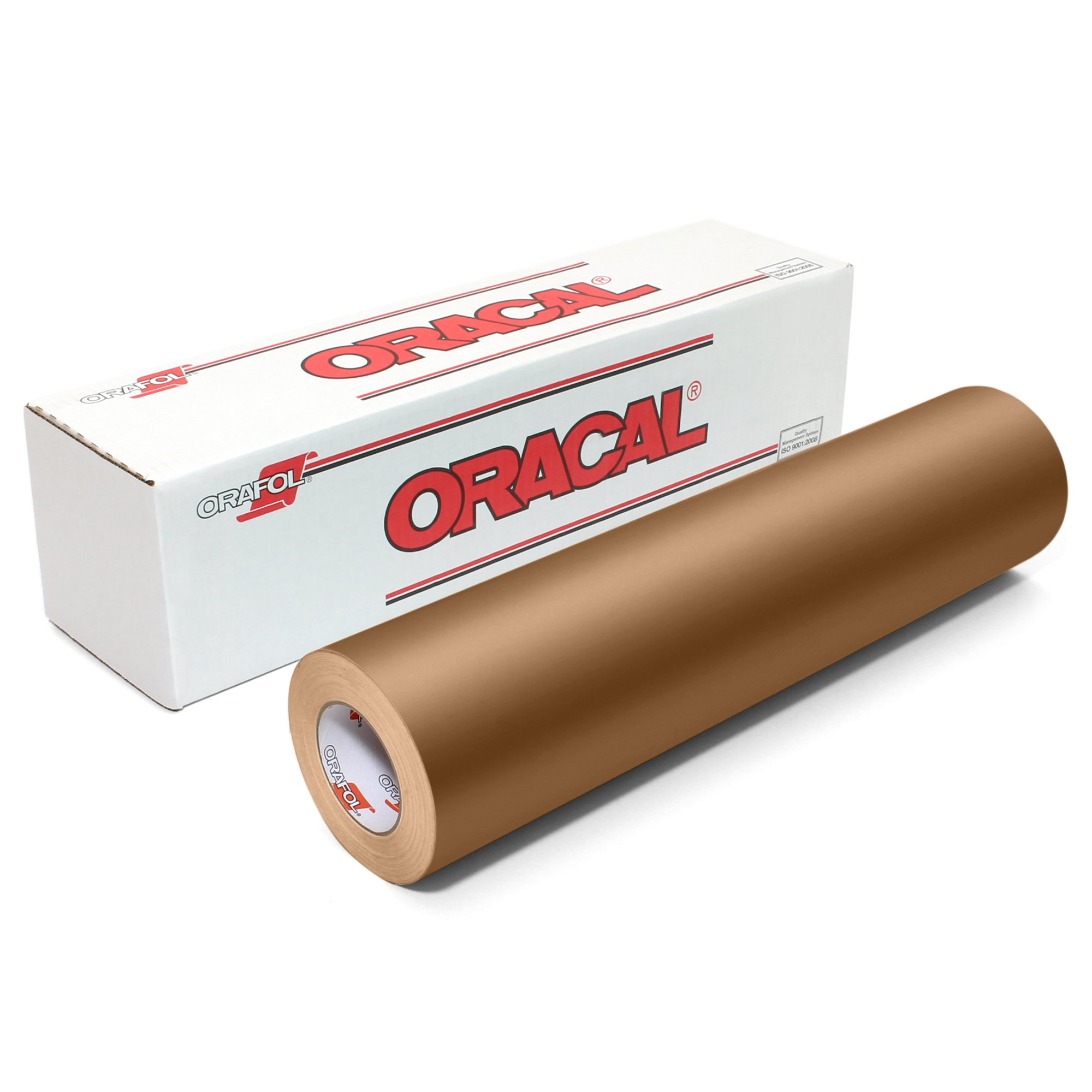 Oracal 631 Matte Vinyl Roll 24 Inches by 150 Feet - Metallic Copper
