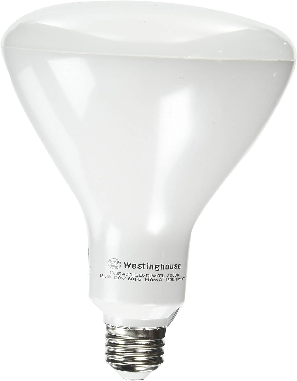 Westinghouse Lighting 5306400 85-Watt Equivalent R40 Flood Dimmable Bright White LED Energy Star Light Bulb with Medium Base