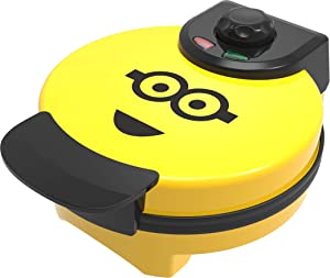 Uncanny Brands Minions Kevin Waffle Maker Standard