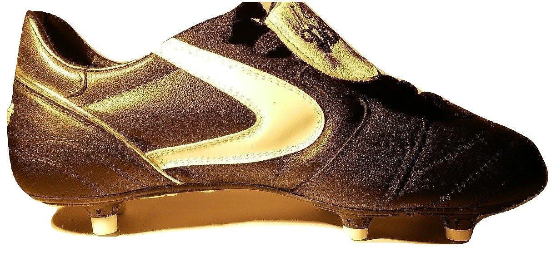 118144681 VALSPORT Scarpe da Calcio Uomo Nere Black Star Pro Marco Simone Vintage da  Collezione Personalizzate con Autografo Ricamato Ex-Giocatore Milan Anni 90  con ...