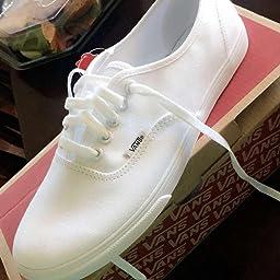 separation shoes f7f8b 4dc70 Amazon.com   Vans Unisex Authentic Black Black Sneaker - 7.5 ...