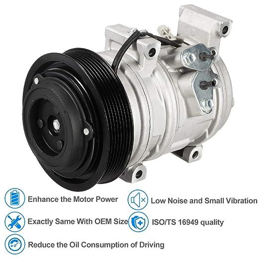 Amazon.com: AUTEX AC Compressor and Clutch Assembly 97365 98365 CO 11163C Replacement for 2005 2006 Scion tC 2.4L: Automotive