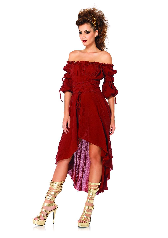 Leg Avenue Women's High Low Peasant Dress Leg Avenue Costumes 2700