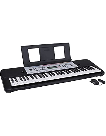 e45c3f2e791 Yamaha YPT260 61-Key Portable Keyboard with Power Adapter (Amazon-Exclusive)