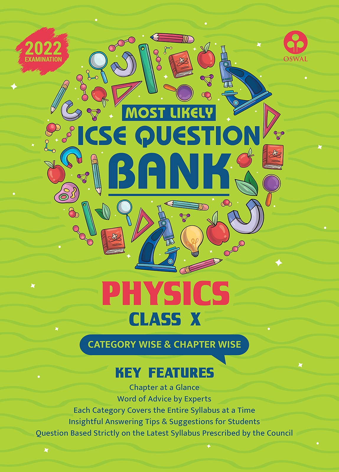Most Likely Question Bank for Physics: ICSE Class 10 for 2022 Examination Paperback – 15 April 2021