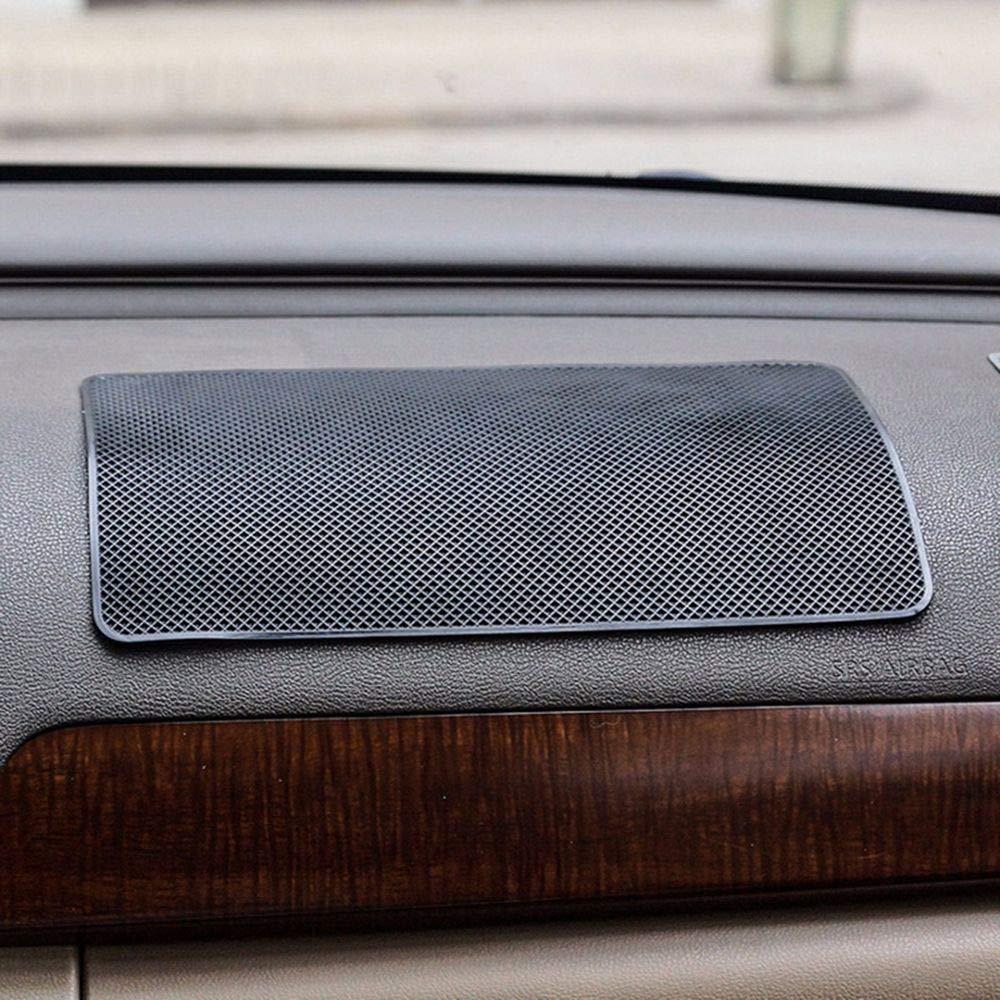 NUOMI Anti-Slip Cell Phone Car Pads /& Mats 2 Pack Dashboard Sticky Non-Slip Gel Pad Universal Mat Black