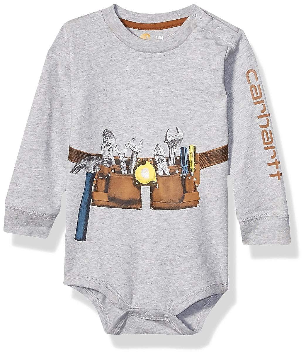 Carhartt Baby Boys Long Sleeve Bodysuit