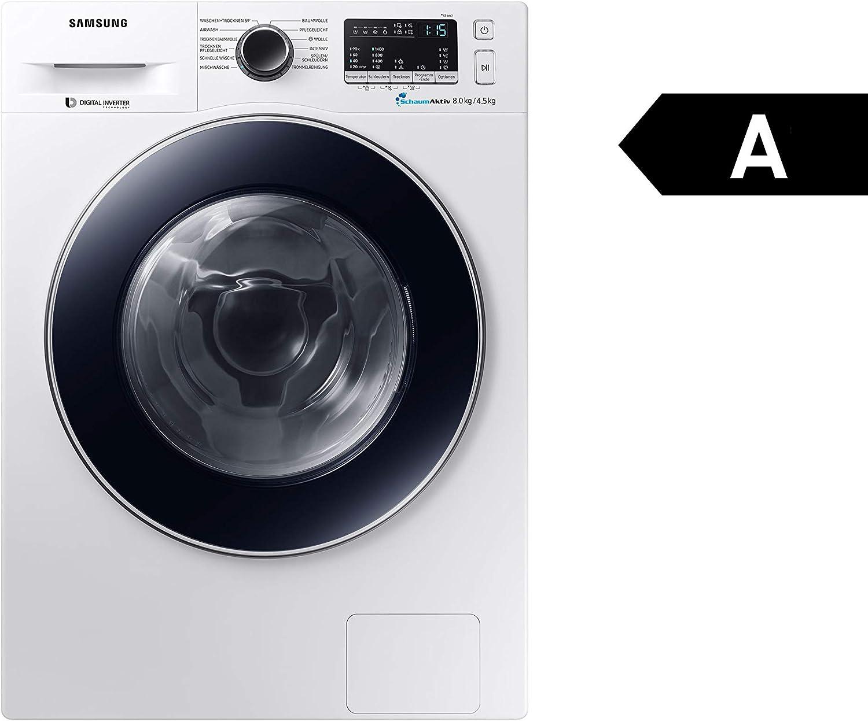 Samsung WD80M4A33JW/EG lavadora Carga frontal Independiente Blanco ...