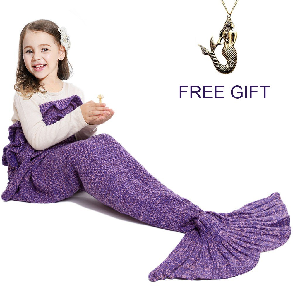 Top 11 Best Mermaid Tail Blankets for Kids Reviews in 2019 4