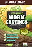 Life Cycle Organics 100% Organic Worm Castings - 20 oz. Resealable Zip Pouch
