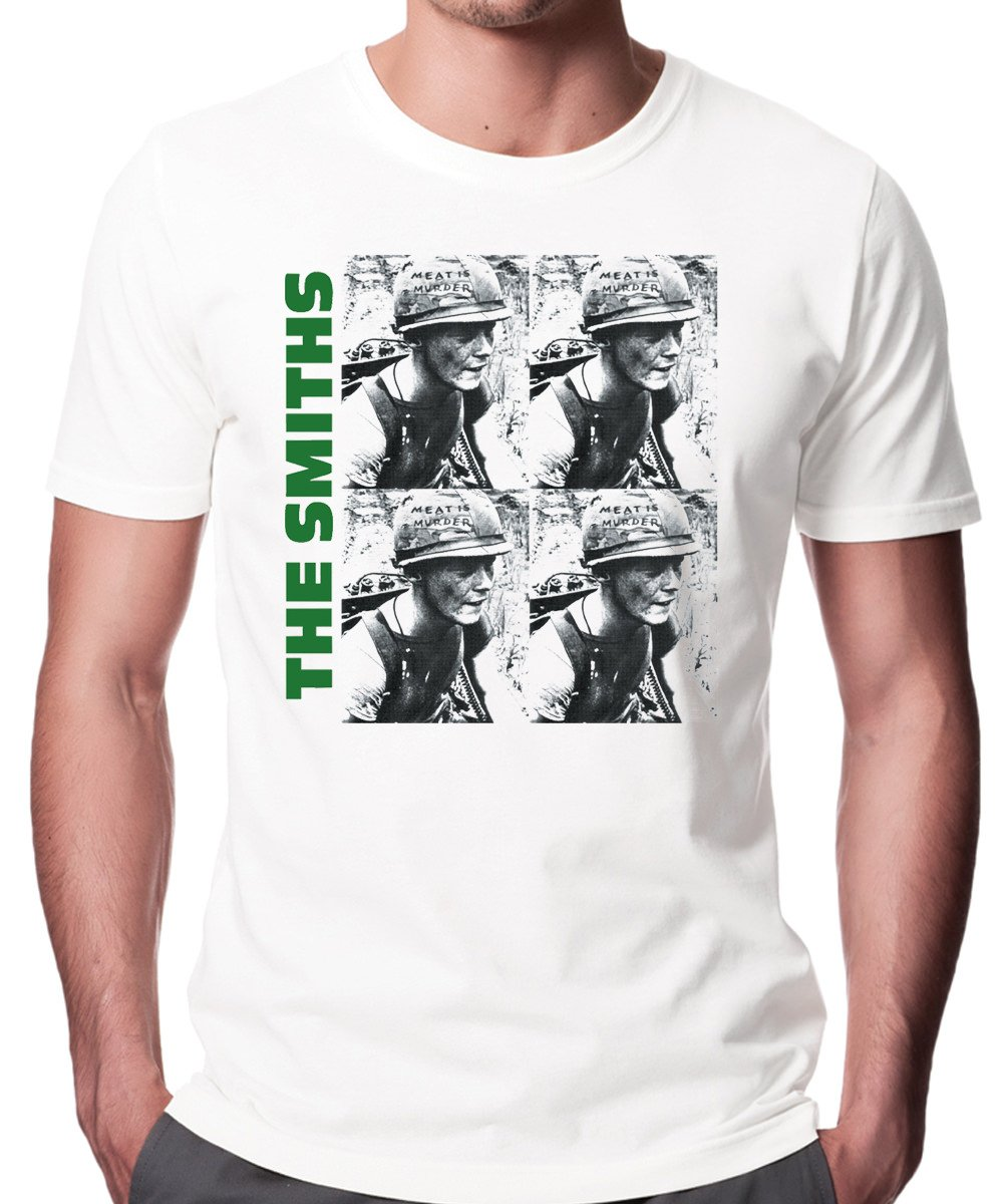 The Smiths Meat Is Murder Unisex Fashion Quality Heavyweight T-Shirt. Human Apparel