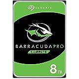 Seagate ST1000DMZ10 3.5 英寸内置硬盘驱动器 - 银色ST8000DMZ004/DM0004 BarraCuda Pro 8 TB