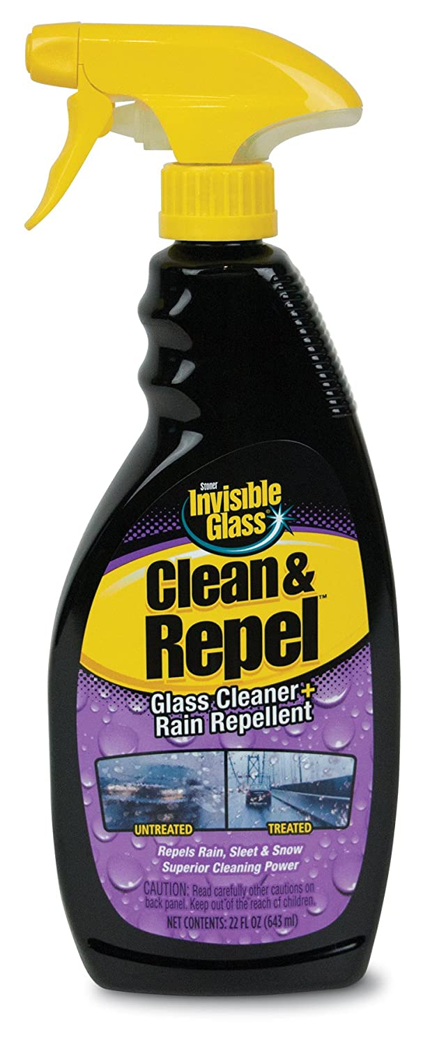 Invisible Glass 92184 Premium Glass and Windscreen Cleaner with Rain Repellent Stoner 92186