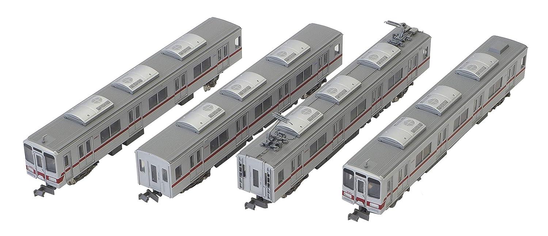 グリーンマックス Nゲージ 東武30000系 東上線  新ロゴマーク付き 増結用中間車4両セット 動力無し 30769 鉄道模型 電車 B07CQL99Y7