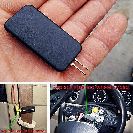 DUOCACL Accessori per Auto Strumento diagnostico per emulatore di simulatore di airbag Universale per Auto per Auto Ricerca guasti SRS