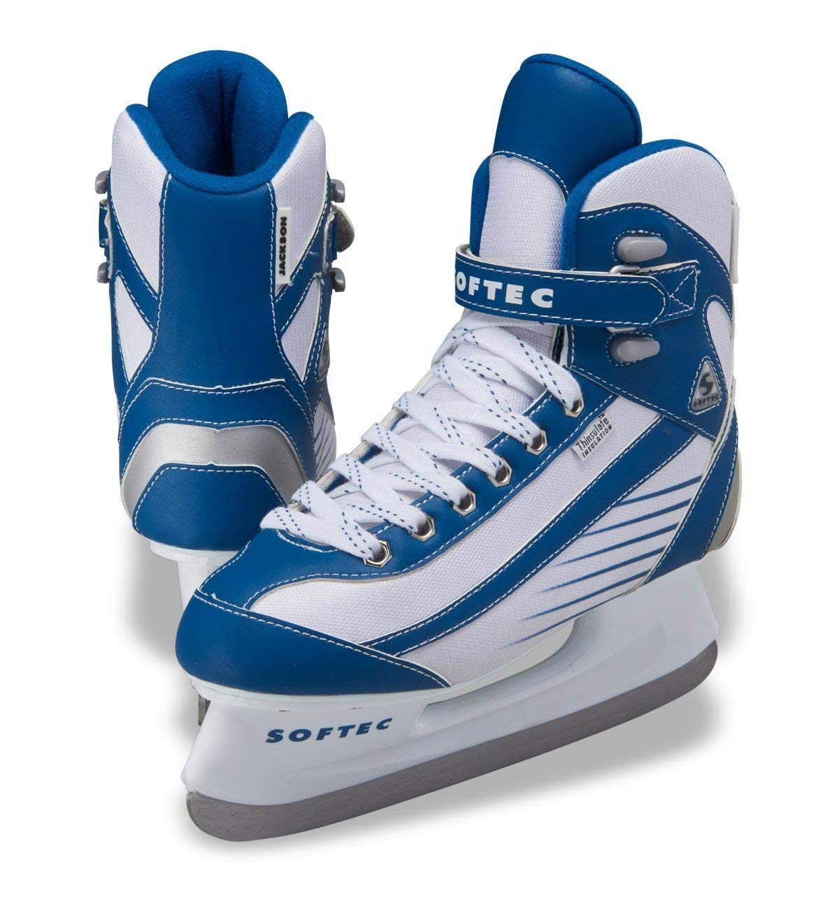 Jackson Ultima Softec Sport ST6100 Blue Ice Skates for Women, Size: Adult 6 by Jackson Ultima