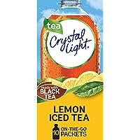 Crystal Light Lemon Iced Tea Drink Mix (60 On-the-Go Packets, 6 Packs of 10)