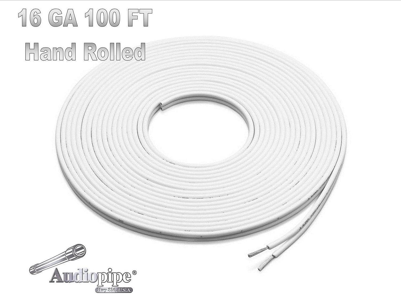 50 Foot Reel 16 Gauge Tinned Marine Primary Wire White