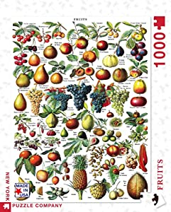 New York Puzzle Company - Vintage Images Fruits - 1000 Piece Jigsaw Puzzle