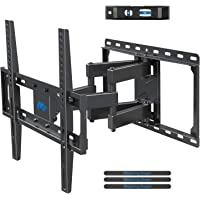 Mounting Dream TV Wall Bracket Mount Swivel and Tilt for Most of 26-55 Inch LED, LCD, OLED and Plasma Flat Screen TVs up to VESA 400x400mm and 45 kg, Full Motion TV Bracket with Articulating Arms