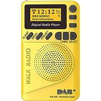 P9 Mini Pocket DAB/FM Digital Radio FM Digital Demodulator with LCD Display Portable MP3 Player TF Card Slot