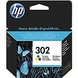 HP 302 Standard Capacity Colour Original Ink Cartridge