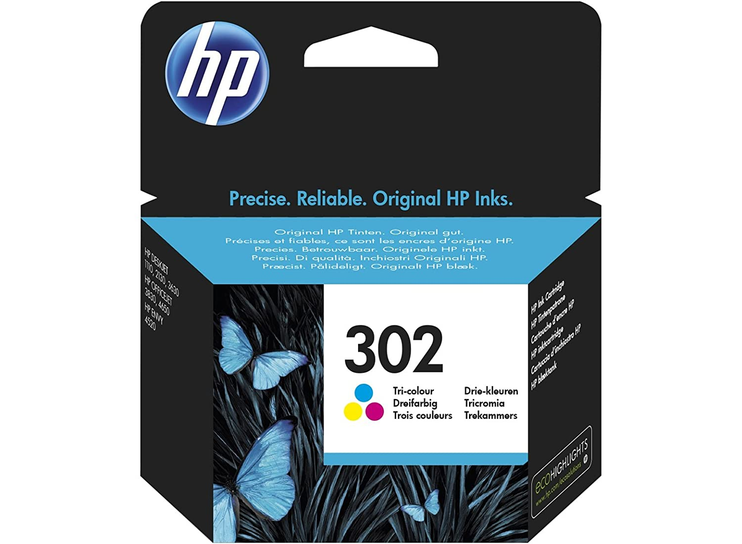 HP Tri color Original Ink Cartridge ml páginas Cian Amarillo cartucho de