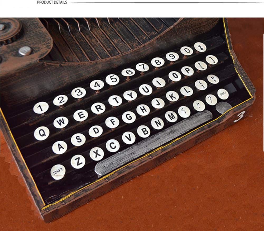 Retro Vintage antiguo teclado máquina de escribir modelo ...